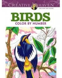 Birds. Color by Number