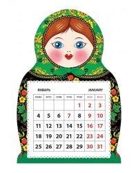 "Календарь на 2021 год ""Матрешка. Клубника"" (КР33-21012)"