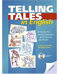 Telling Tales in English: Photocopiable stories and activities for young learners. Book with photocopiable activites (+ Audio CD)