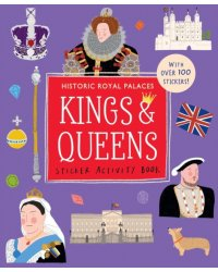 Kings and Queens. Sticker Activity Book