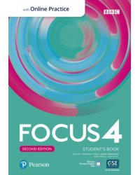 Focus 4. Student's Book with Standard PEP Pack