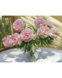 """Алмазная мозаика """"Бузин. На солнечной веранде"""" (36 цветов)"""