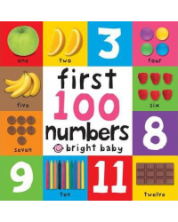 First 100 Numbers. Board Book