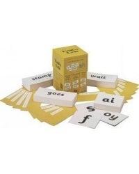 Jolly Phonics Cards: In Precursive Letters