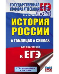 ЕГЭ. История России в таблицах и схемах для подготовки к ЕГЭ. 10-11 классы