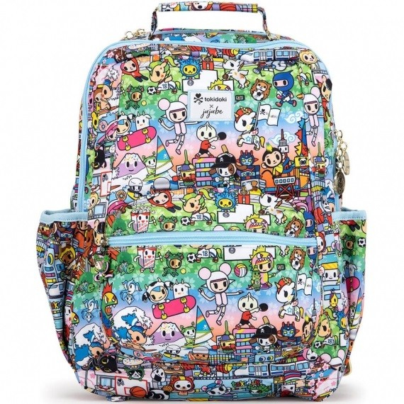 "Рюкзак JuJuBe ""Be Packed"", цвет: Tokidoki Team Toki, 26,7x41,9x12,7 см"