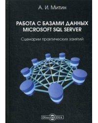 Работа с базами данных Microsoft SQL Server. Сценарии практических занятий. Практическое пособие