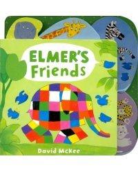 Elmer's Friends. Board book