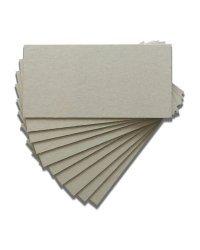 Переплетный картон, толщина 1,5 мм, 10х20 см, 10 листов