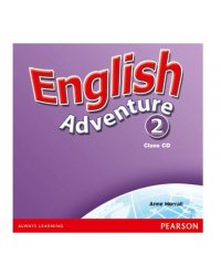 Audio CD. English Adventure. Level 2 (количество CD дисков: 2)