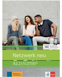 Netzwerk NEU A2.2. Kurs- und Arbb + Audio online