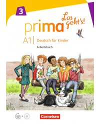 Prima А1.3. Los geht's! Deutsch fur Kinder. Arbeitsbuch (+ Audio CD)