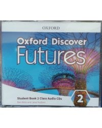 Audio CD. Oxford Discover Futures. Level 2. Class CDs