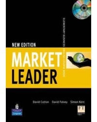 Market Leader. Elementary Coursebook with Self-Study CD-ROM (+ Audio CD)