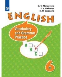 Английский язык. 6 класс. Лексико-грамматический практикум. Углубленный уровень (новая обложка)