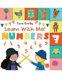 Learn With Me! Numbers (Lift-the-flap board book)
