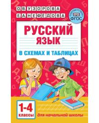 Русский язык в схемах и таблицах. 1-4 классы