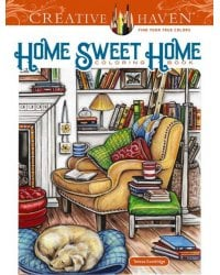 Home Sweet Home. Coloring Book