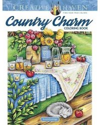 Country Charm. Coloring Book