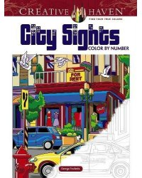 City Sights. Color By Number