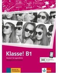 Klasse! B1. Uebungsbuch mit Audios online
