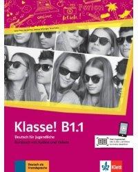 Klasse! B1.1. Kursbuch mit Audios und Videos online
