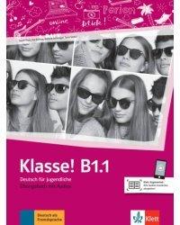 Klasse! B1.1. Ubungsbuch mit Audios online