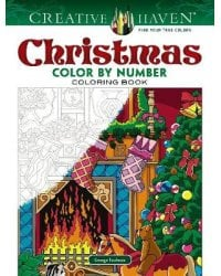 Christmas. Color by Number