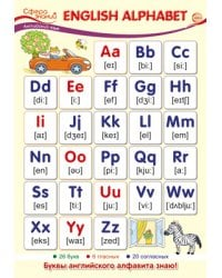 "Плакат А3 ""English Alphabet"""