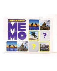 """Игра настольная """"Мемо. Санкт-Петербург"""" (50 карточек)"""