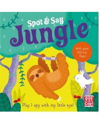 Spot and Say. Jungle