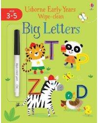 Big Letters. Age 3-5