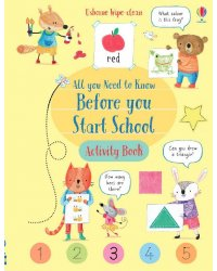 All You Need to Know Before You Start School. Activity Book