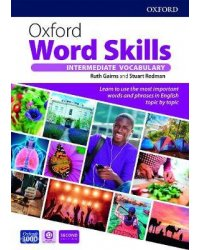 Oxford Word Skills Intermediate Vocabulary Student's Book with App Pack