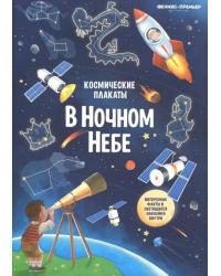 Космические плакаты. В ночном небе