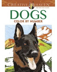 Dogs. Color by Number