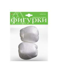 """Пенопластовые фигурки """"Яблоки"""", 80 мм (2 штуки)"""