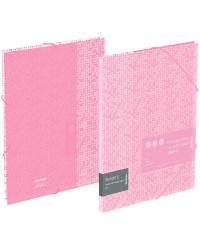 """Папка на резинке """"Starlight S"""", А4, 600 мкм, розовая"""