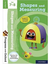 Progress with Oxford: Shape and Measuring Age 7-8 with Stickers
