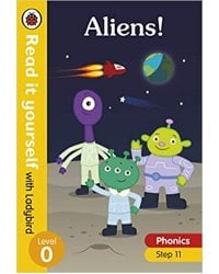 Aliens Read yourself with Ladybird Leve