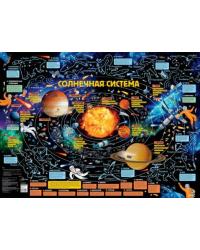 Карта звездного неба для детей с наклейками