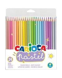 """Карандаши цветные """"Pastel"""", 24 цвета"""