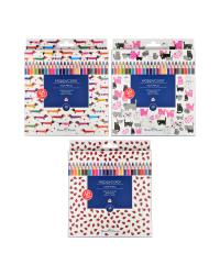 """Карандаши цветные """"Happy color"""" (пластиковые), 48 цветов"""