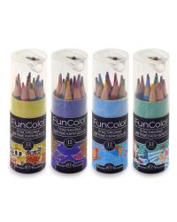"""Карандаши цветные """"Fun color"""", укороченные, 12 цветов"""