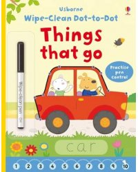 Wipe-clean Dot-to-dot. Things that Go