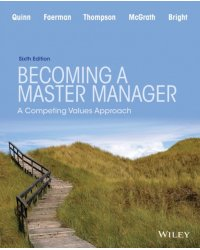 Becoming a Master Manager. A Competing Values Approach