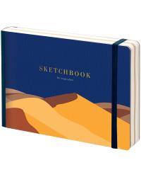 """Скетчбук - альбом для рисования """"Desert"""", В6, 80 листов"""
