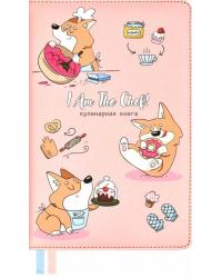 """Книга для записи кулинарных рецептов """"Корги повар"""", А5, 144 листа, линия"""