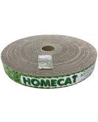 """Когтеточка с кошачьей мятой Homecat """"Мятная"""", круглая (гофрокартон), 32х4 см"""