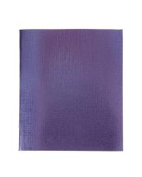 """Тетрадь """"Бумвинил. Metallic"""", А5, 96 листов, клетка, фиолетовая"""
